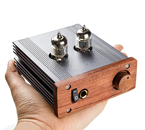 Nobsound Class A Sigle-Ended 6J1 Stereo Vacuum Tube Headphone Amplifier; Mini HiFi Preamplifier