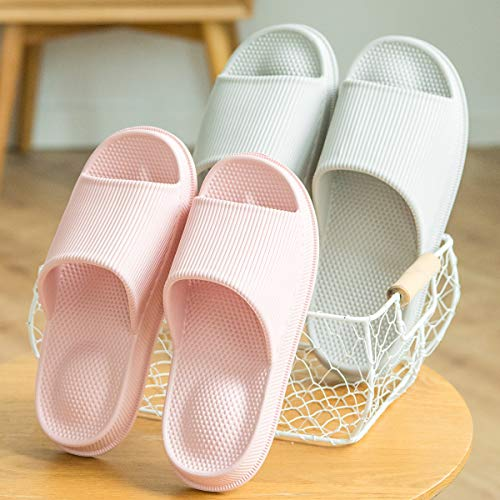 Spa Heel Gym Pink amp; Bath Foot Women Bathroom Slippers slip Shower Anti Footwear Massage Men Indoor Home Wanda Shoes Sandals For UwqIRHAR4