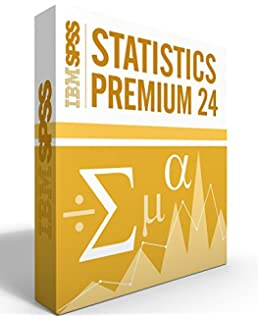 Amazon spss student version 180 valuepack 6th edition ibm spss statistics grad pack premium v240 12 month license for 2 computers windows fandeluxe Image collections