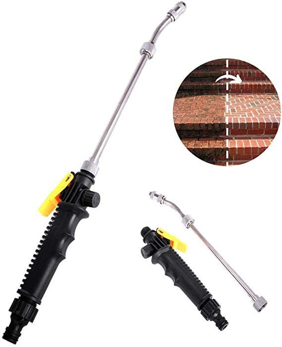 2-in-1 Brass 2*Nozzle High-Pressure Power……Washers For Washing/&Car Sidewalks