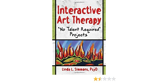 Amazon com: Interactive Art Therapy: No Talent Required