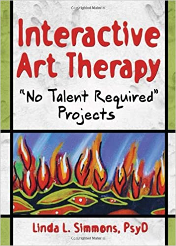 Amazon Com Interactive Art Therapy No Talent Required Projects
