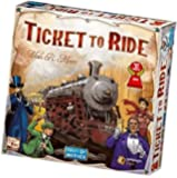 Ticket to Ride United States of America Map | 2 to 5 Players, 60 Minutes | Connect Trains from Canada to Mexico