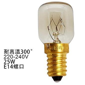 Bombilla lámpara de cristal de sal_Horno 25w bombilla de horno de ...