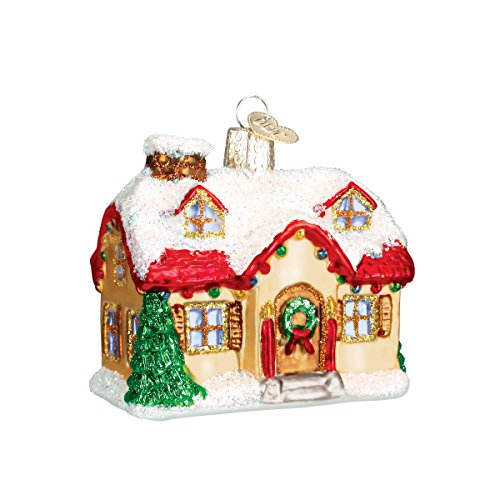 Old World Christmas Ornaments: Holiday Home Glass Blown Ornaments for Christmas Tree