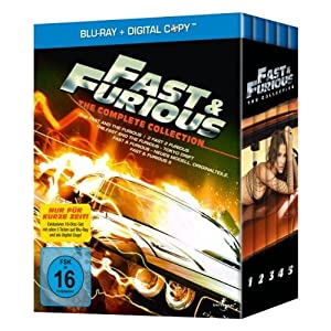 zavvi: Fast & Furious 1-5 - The Complete Collection - Blu-ray Box für nur 19,73€ inkl. Versand!