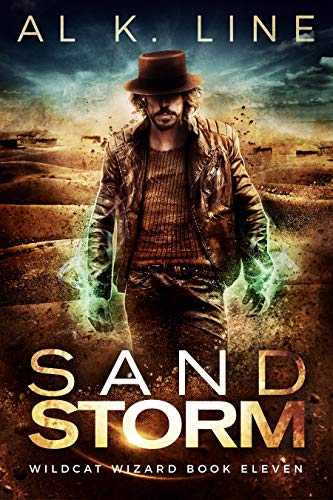 Sand Storm (Wildcat Wizard Book 11) by [Line, Al K.]