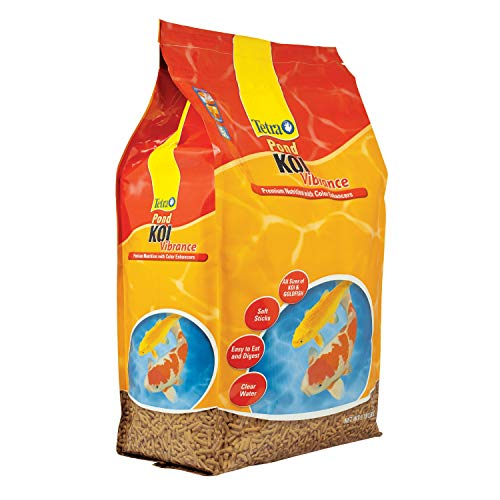 Fish Mini Pellets - TetraPond Koi Vibrance, Soft Sticks, Floating Pond Food