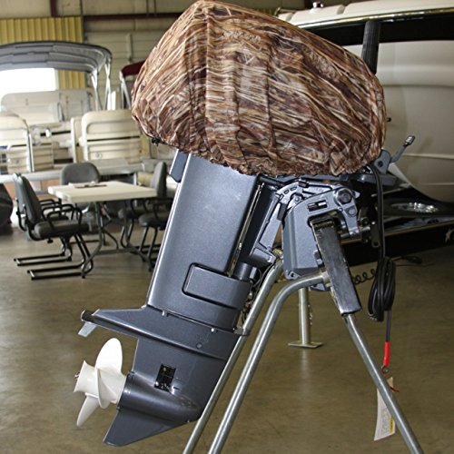 Avery Outdoors Standard Outboard Cover,Marsh Grass,Large,30-40hp