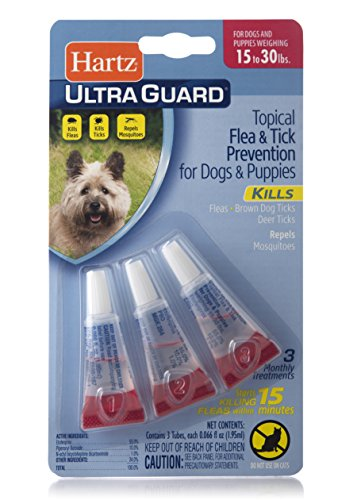 Hartz UltraGuard Flea & Tick Drops For Dogs