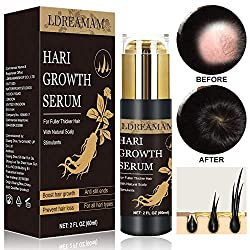 Special Care For Your Hair: Stress,environmental toxins,and aging are all factors that can cause lackluster hair, hair loss,and hair thinning.Trusted by men and women worldwide,our hair growth serum is developed to provide an effective solution to pr...