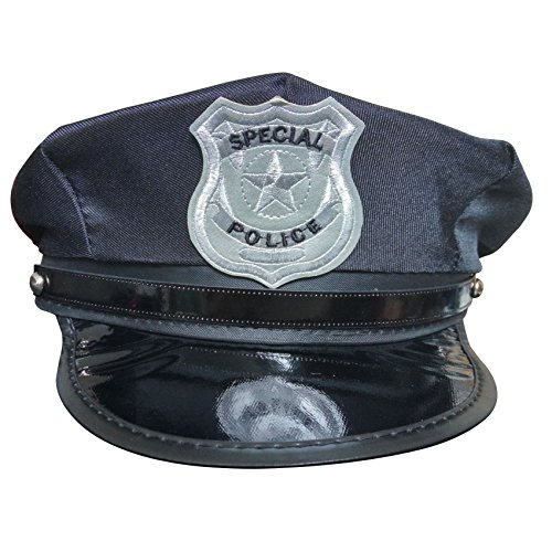 TianS Party Accessory Unisex Adults Police Hat