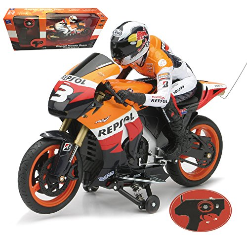 1:9 Scale Racing Repsol Honda Team Honda RC 212V 4 Channel RC Remote Control Motorcycle