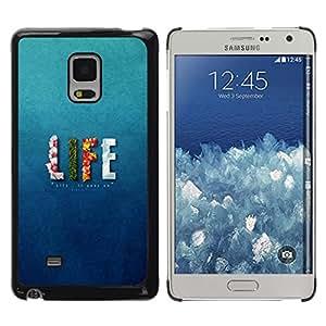 // PHONE CASE GIFT // Duro Estuche protector PC Cáscara Plástico Carcasa Funda Hard Protective Case for Samsung Galaxy Mega 5.8 / LIFE - UPS AND DOWNS /