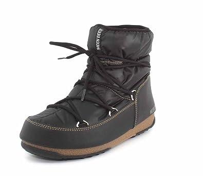 Moon Boot Low Damen Schwarz Nylon Stiefel: : Schuhe