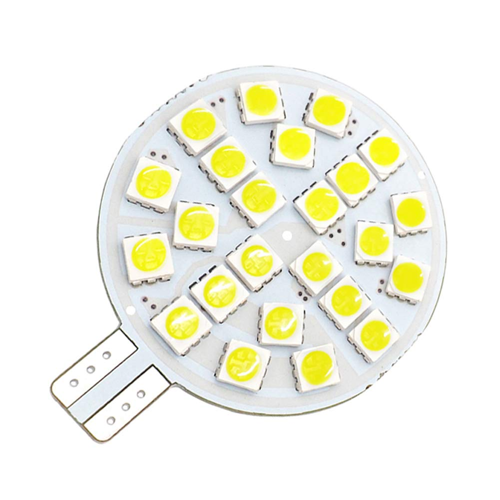 GRV T10 921 194 Bombilla LED 24-5050 SMD lámpara Super Brillante ...