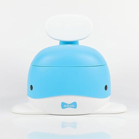 c948b04cbb862 Meetbaby新世代の幼児用クジラ型かわいい子供トイレ便座幼児用トイレ便座補助子供用トイレ便座乳幼児女便器赤ちゃん便座(Blue)