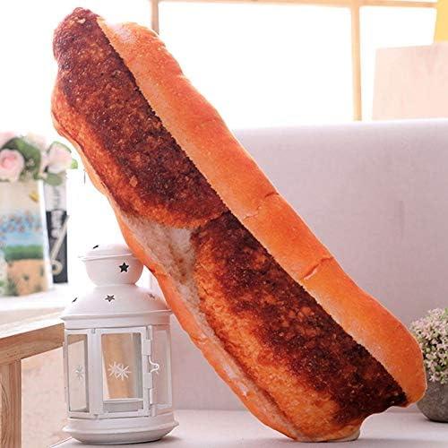 パン枕 ぬいぐるみ リアル 取り外し可能 バターパン 美味しいパン ふわふわ インテリア 添い寝枕 洗える ジップ付き ウエスト枕 ソファ/お部屋 クロワッサン もちもち お誕生日 パン屋飾り イエロー