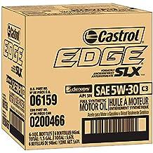Castrol 6159 EDGE 5W-30 C3 Advanced Full Synthetic Motor Oil, 1 Quart, 6 pack