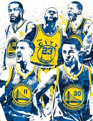 DIY 5D Diamond Painting by Number Kit,NBA Crystal Rhinestone Embroidery Cross Stitch Arts Craft Canvas Wall Decor 15.7X11.8IN(Full Drill) ()