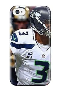 Premium Tpu Seattleeahawks Cover Skin For Iphone 4/4s