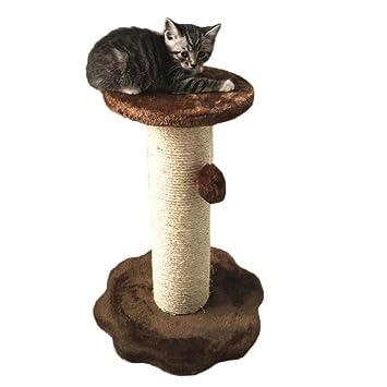 Myyxt Mascota Gato que sube el estante Árbol Muebles Sisal Tablero del rasguño del gato Felpa Plataforma: Amazon.es: Deportes y aire libre