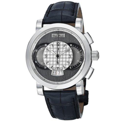 Paul Picot Technograph Wild Men's Slate Grey Dial Automatic Chronograph Watch P0334-2Q.SG.1032.A3201