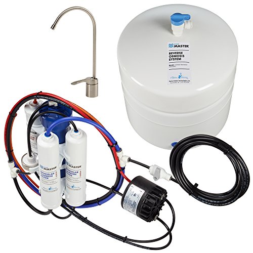 Home Master TM-ERP-L Standard with Permeate Pump Loaded Undersink Reverse Osmosis Water Filter System