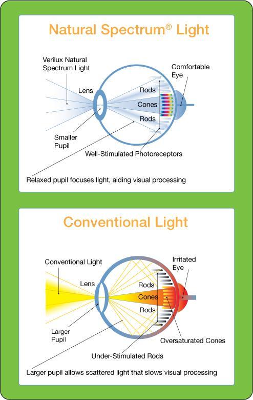 Amazon Com Verilux Heritage Natural Spectrum Deluxe Floor Lamp Antiqued Brushed Nickel Health