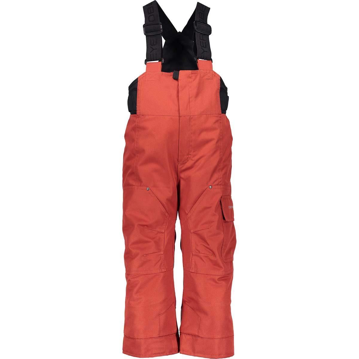 Obermeyer Boy's Volt Pant (Rawhide Red / 7) by Obermeyer