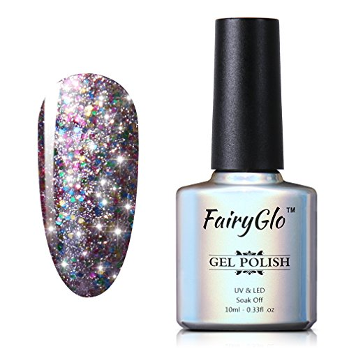 FairyGlo Starry Nail Polish Soak Off UV LED Nail Art Starter