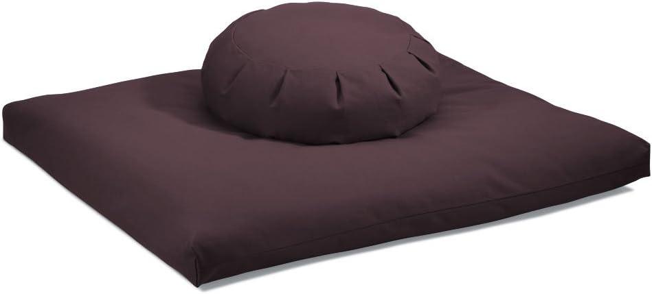 DharmaCrafts Zafu and Zabuton Set ZZSet Meditation Cushions