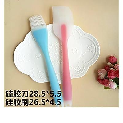 Accessoires de cuisine ZXY ZXY cuire les outils gel de silice spatule grattoir gel de silice pelle gel de silice pinceau quantité cuillère blanc d'oeuf séparateur association,un