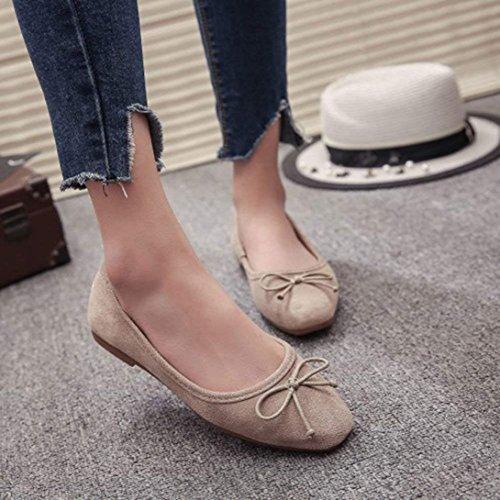 Cómodo Zapatillas Chancleta Verano Mujer Náuticos Planos Albaricoque Casual Zapatos Plataforma Vacaciones Sandalias Moda Bailarinas 6x0XATqwg