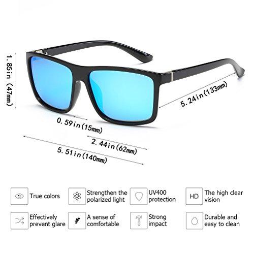 37f04218c8 Polarized Sunglasses for Men Driving Mens Sunglasses Rectangular Vintage  Sun Glasses For Men Women