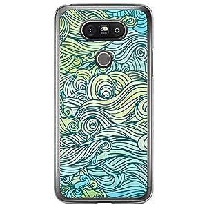 Loud Universe LG G5 Waves 4 Designed Transparent Edge Case - Multi Color