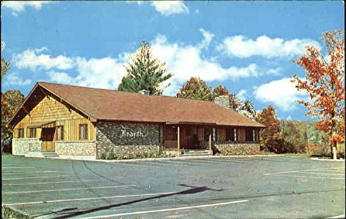 The Hearth Cocktail Lounge, Rt. 7 Brookfield, Connecticut Original Vintage Postcard