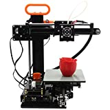 "Desktop 3D Printer with instruction video, Diy Kit High accuracy Self-assembly FDM By InStone 3D Printer 5.12"" x 5.91"" x 3.94"" Printing Size Instone 3D"