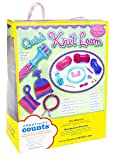 Creativity for Kids Quick Knit Loom – Teaches Beneficial Skills and Creativity – Easy to Use – For Ages 7 and Up