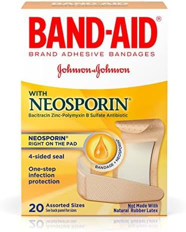 Bandages & Gauze: Band-Aid with Neosporin