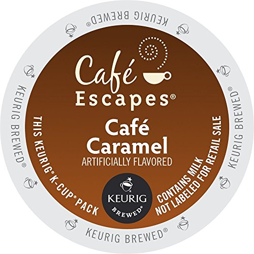 Café Escapes Hot Cocoa, Milk Chocolate, K-Cup Portion Pack for Keurig Brewers, 24-Count