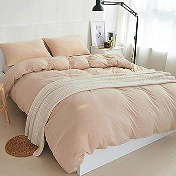 Amazon Com Douh Jersey Knit Cotton Duvet Cover Set King