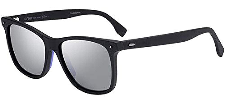 2b4409b87456 Sunglasses Fendi Men Ff M 2 S 0003 Matte Black T4 silver mirror lens at  Amazon Men s Clothing store