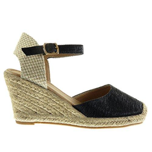 Zapatos dorados Angkorly para mujer dOZRJnakt