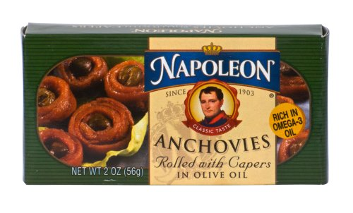 Napoleon ANCHOVIES ROLLED WITH