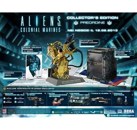 Aliens: Colonial Marines - CollectorS Edition [Importación Italiana]: Amazon.es: Videojuegos