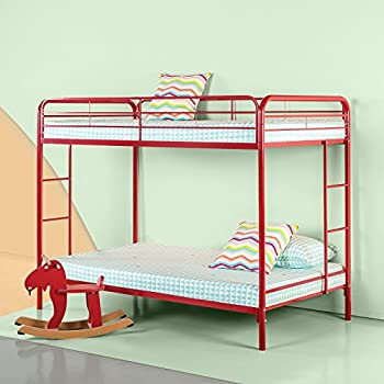 Amazon Com Zinus Easy Assembly Quick Lock Metal Bunk Bed