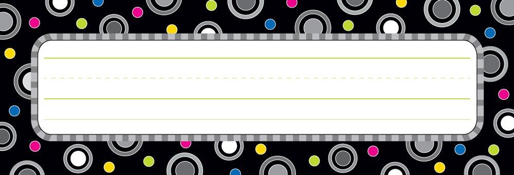 Creative Teaching Press Party Name Plates, Polka Dot (3888)