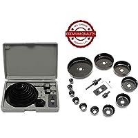 DeoDap 19-127mm Hole Saw Cutter Tool Kit - Set of 16