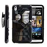 TurtleArmor | HTC Desire 816 Case [Hyper Shock] Armor Solid Hybrid Cover Kickstand Impact Silicone Protector Holster Belt Clip Online Gaming Design – Black Game Controller Review